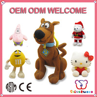 GSV SEDEX Factory  supply new fashion pound puppies stuffed animals