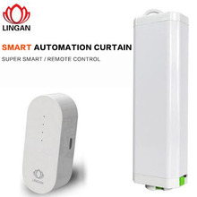Zigbee home automation wireless smart curtain motor