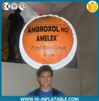 Inflatable balloon with custom logo, inflatable backpack balloon for advertising