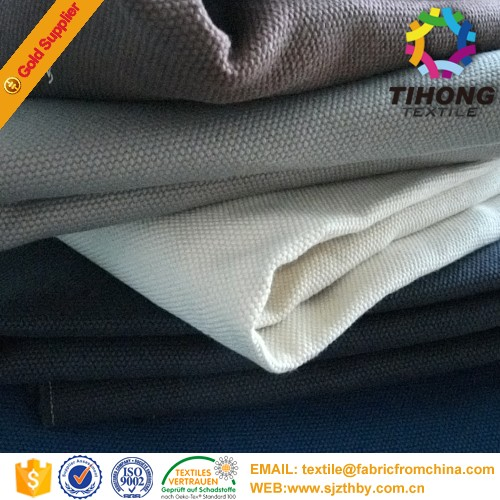 Christmas hot sales China supplier 2017 20 OZ dyed canvas fabric for tent / canvas fabric