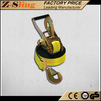 Z-Sling Tightly woven Twisted Snap Hook Belt and tie down strap used cars