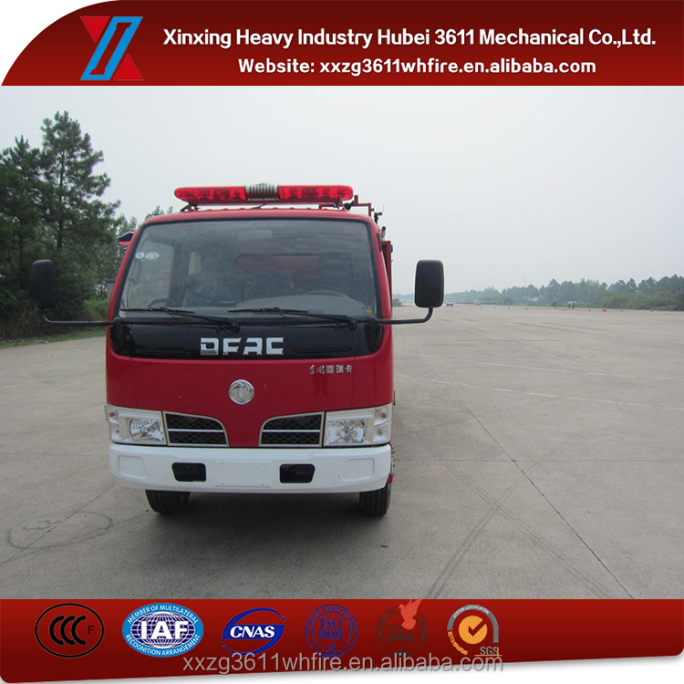 Hot Sale High Quality Euro4 Small Water Truck Fire Truck