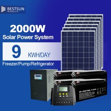 20KW 20000w 20kva home solar power system supply 60kw a day off grid solar pv system solar electricity solar power system
