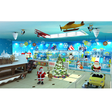 Cheap Indoor Playground Equipment Shopping Mall Amusement Center Kids mini indoor playstation games