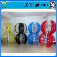 New arrival!!!HI CE soccer bubble,inflatable soccer,zorbing ball equipment for fun