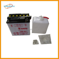 Wholesale good price motorcycle yuasa 12v motorcycle battery in 5ah 6ah 7ah 9ah with high performance