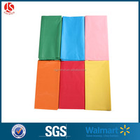 disposable plastic solid color table cover party decorative table cloth