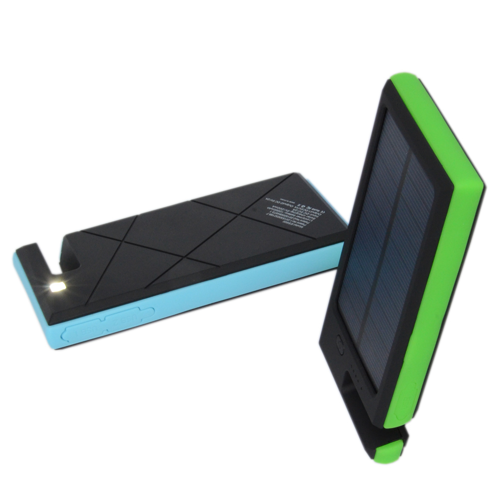 Solar power new products 2014 mobile phone power bank good price