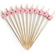 factory online disposable decorative bamboo skewers and toothpick