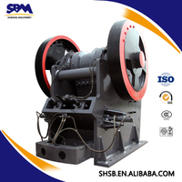 SBM PEW jaw crusher gmail com with high capacity and low price