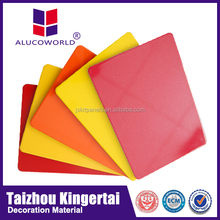 Alucoworld aluminum trailer panels aluminum plastic composite panel for walls
