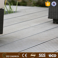no glue wpc board Anti-Skidding plastic wood decking composite floor laminate flooring