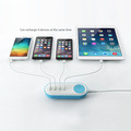 custom multi-function cell phone 4 USB power adapter Charger Station