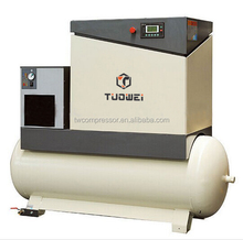Double screw oil lubricated low price combined screw compresssor