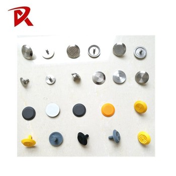Tactile Indicator Stainless Steel Stud Reflector Nails Road