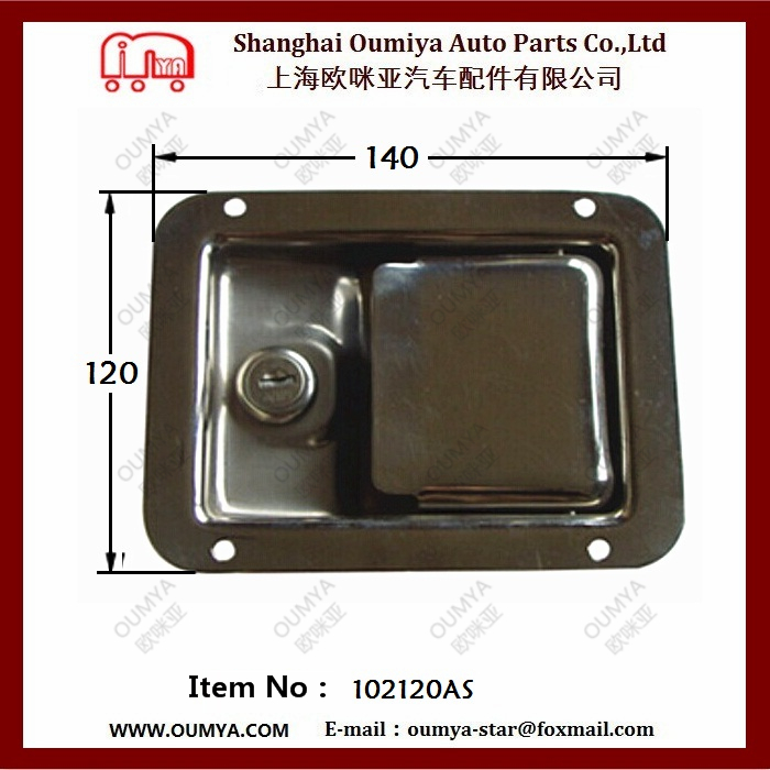 china's paddle lock for truck body parts manufacturer 102120AS