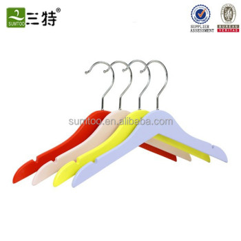 wholesale wood children clothes hangers