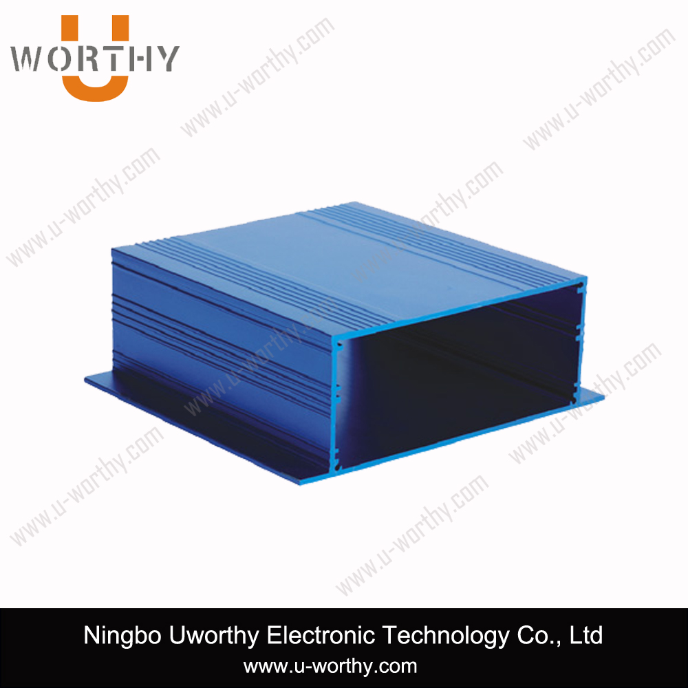 Al 6063 Alloy Aluminum Extrusion for PCB, Metal Electronic Enclosure Box
