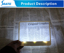 3X Magnifying Sheet with Light for reading help CY062