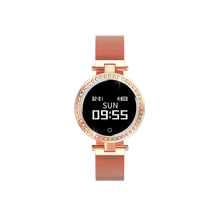 SNR Touch screen wrist watch women <strong>X10</strong> smartwatch IP68 heart rate monitor bracelet girl