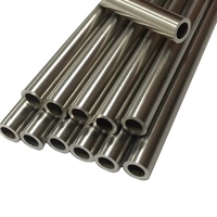304L 316L Stainless Steel Thin Wall Seamless Capillary Tube 1.4401 Pipe 1mm 2mm 3mm 4mm 5mm 6mm 7mm