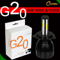 High power headlight led h4 40W 6000K G20 G5 led headlight bulbs 12V 24V COB fan cooling led h7 headlight