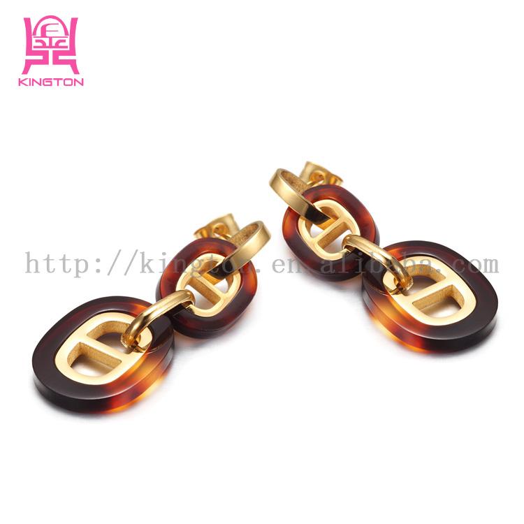 nature resin jewelry making acrylic hoop earrings buy