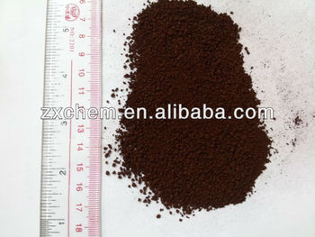 Dark brown powder fe eddha (% 6) iron chelate fertilizer