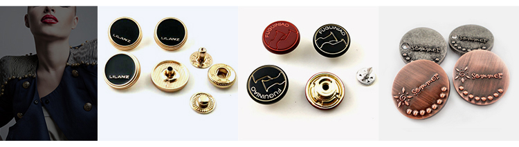 China gold supplier 6mm black snap fasteners