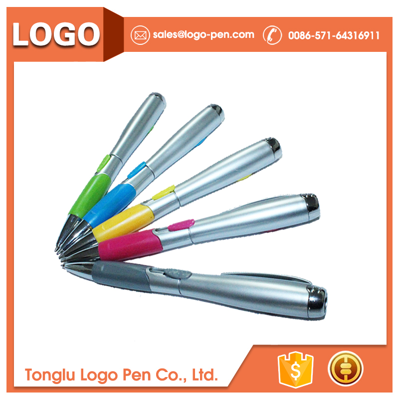 ball point abp-320 series promotional with logo hot arab six pen/uv light pen
