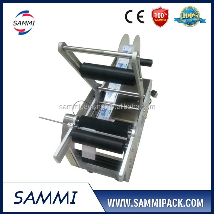 Factory direct sales High quality MT-50 Semi-Automatic Round Bottle Labeling Machine
