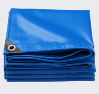 Tarp Heavy Duty Tarpaulin 150 GSM cross laminated, 10 x 15', Green/Blue, includes Eyelets/ 5 Year Warranty on UV Stabili
