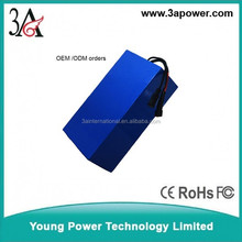 60v 20ah lifepo4 battery packs Electric car lithium battery electric motor backup power supply