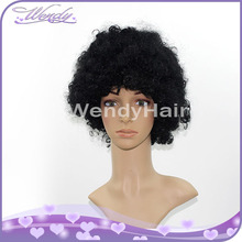 Hot selling plastic germany party carnival fans wigs