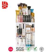 Clear transparent cheap acrylic makeup organizer with drawers