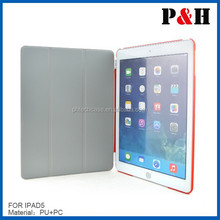 custom leather cover for ipad air custom design cover for tablet pc leather case for ipad air