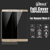 OEM/ODM full cover 2.5d 9H anti broken cell phone tempered glass screen protector for huawei mate s