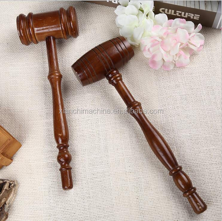 Wood Gavel Judge Gavel Wood Mallet Auction Hammer with sound Block Legal Office Decor