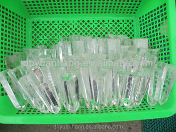 80-120mm natural rock crystal points, small clear crystal wands