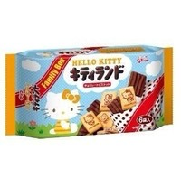 GLICO HELLO KITTY FAMILY BOX BISCUITS 88.2G