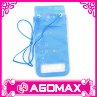 pvc waterproof cell phone bag,waterproof mobile smartphone bag,drawstring waterproof cellphone bag