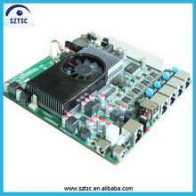 Wholesale Intel D2550 OEM Motherboard Mini-itx Motherboard for 4 LAN