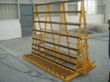 Factory direct sales for glass sheet rack glass trolley storage rack made in China