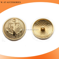 Custom Embossed Metal Sewing Garment Accessory Button
