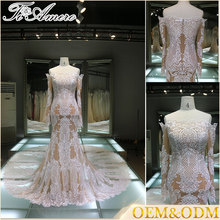 wedding dress embroidery guangzhou suzhou wedding dress hot sell formal bridal mermaid evening dress wholesale