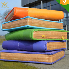 Customized Giant inflatable book for advertising