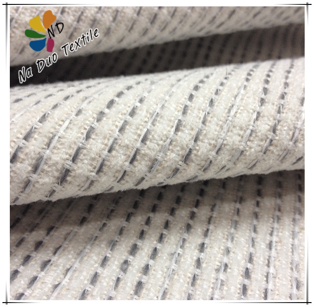 Hot selling polyester plain chenille fabric for sofa/cheap chenille