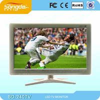 23.6 inch led tv with VGA Port,color tv,wholesale tv led