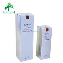 alibaba zhejiang custom made luxury costmetic cleaning essential oil container bottle packaging box with gold stamping logo