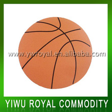 Basketball Shape Rubber Design Mouse Pad